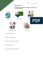 FR II Prendre Partner Activity