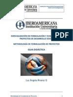 Guia Didáctica Metodología de Formulación de Proyectos
