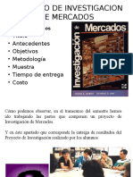 7 Proyecto de Investigacion de Mercados