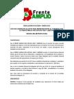 Resolución nro 10 Lima Metropolitana