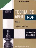 05 - Teoría de Aperturas - Tomo II - Aperturas Cerradas (v. N. Panov)
