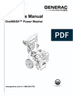 Manual Hidrolavadora OneWash
