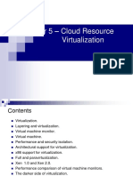 Cloud Resource Virtualization