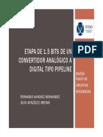 Presentación ADC Pipe Line de 1.5 bits