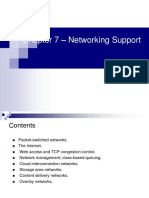 Cloud Computing Networking Support