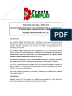 Lista de candidatos electos para congresistas por la región Callao