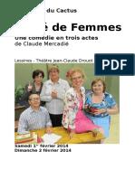 Carré de Femmes - Programme