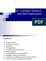 Cloud Computing Complex Systems and Self-Organization