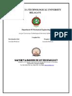 Manual Front Sheets -2