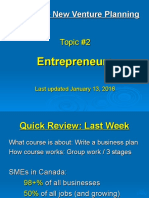 02 - Characteristics of Entrepreneurs - Jan 13 2016