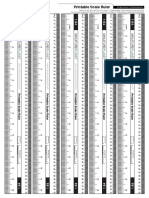Printable Scale-ruler 1 64