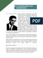 Modelo Monetario de Sidrauski