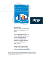 Microsoft Public Cloud Services Chp2