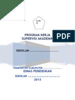 PROGRAM KERJA Supervisi Akademik.doc