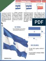 BANDERA NACIONAL NICARAGUA