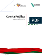Cuenta Pública 2011
