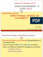 Chapter Seven Structural Design of Pavement