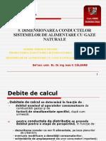 5. Dimensionarea Conductelor Sistemelor de Alimentare Cu Gaze Naturale
