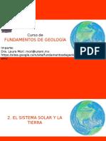 02. El Sistema Solar y La Tierra