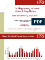 Hospitality Lawyer on Hotel Values and Cap Rates - Suzanne Mellen from JMBM's Meet the Money 2008