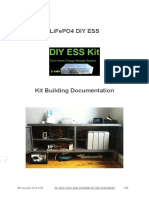 LiFePO4 DIY ESS - Kit Building Documentation