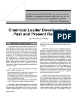 Chemical Leader Development