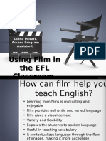 Working with Movies in EFL Classes