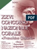 Concorso Cori Quartiano - 2008