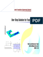 Foundation System Design