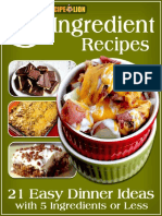 5-Ingredient Recipes 21 Easy Dinner Ideas With 5 Ingredients or Less