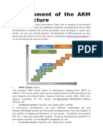 Development of the ARM Architecture
