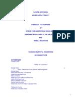 Hydraulic Design Calculations-Head Loss in Plants