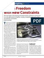 Desktop Engineering - Design Freedom With New Constraints