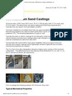 356 Aluminum Sand Casting - A356 Aluminum Castings _ Leitelt Brothers, Inc
