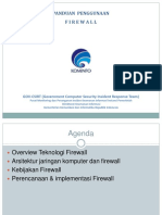 Panduan Penggunaan Firewall