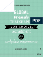 Global Trends That Shaped Job Choice Recruitment and Workplace Performance