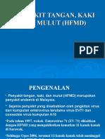 Penyakit Tangan,Kaki Dan Mulut (HFMD)