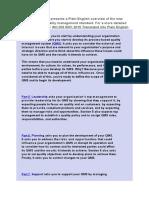 ISO 9001 2015 Praxiom