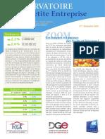 Observatoire de la petite entreprise n° 59 FCGA - Banque Populaire