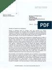 Courrier de Jean-Luc Laurent à François Hollande