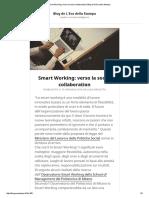 2016 01 19 Osservatori Blog.ecostampa.it Smart Working