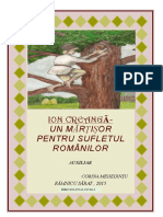 Ion Creanga -Un Martisor Pentru Sufletul Romanilor (1)