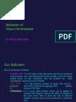Indicators of Macro Environment