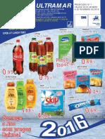 Folheto CASH Ultramar Janeiro 2016
