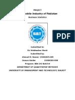 STAT Share Price Comparison of Pakistani Banks
