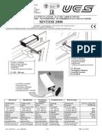 UCS 2040313-Sintesi2000-UseManual PAG 01 02