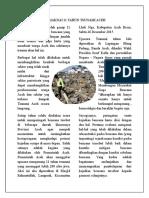 Memaknai 11 Tahun Tsunami Aceh
