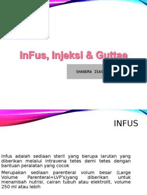 Injeksi Infus Guttae