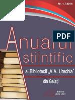 Anuar Științific Nr.1/2014