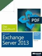 Microsoft Exchange Server 2013 – Das Handbuch